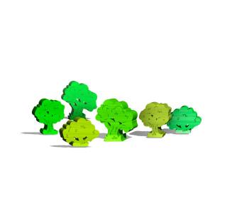 Лиственничные деревья